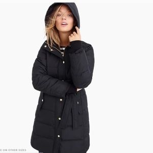 J Crew Puffy Winter Coat